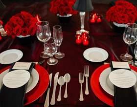 Как оформить свадьбу в красном цвете фото
