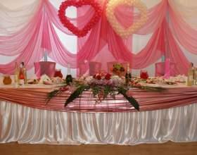 Как оформить свадебный зал фото