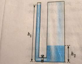 Как определить давление на дно фото
