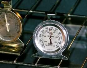Как определить градусы на плите фото