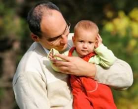 Как определить отцовство ребенка фото