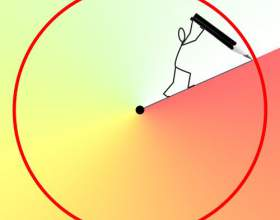 Как определить радиус круга фото