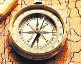 Как определить восток без компаса фото