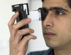 Как определять остроту зрения фото