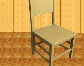 Как опустить стул фото