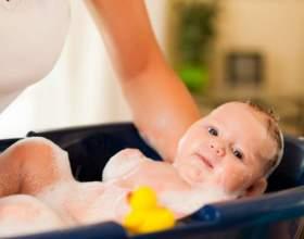 Как организовать первое купание новорожденного дома фото