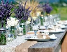 Как организовать свадьбу в стиле прованс фото