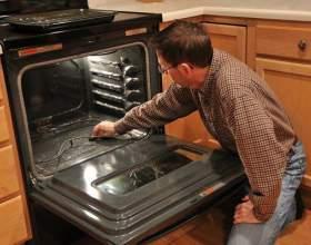 Как отчистить духовку фото