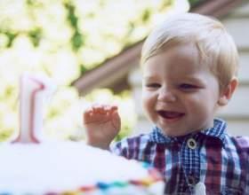 Как отметить день рождения годовалого ребенка фото