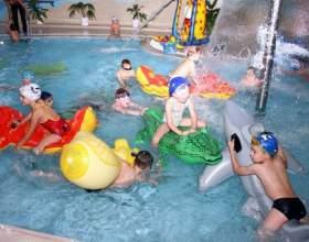 Как отметить день рождения в бассейне фото