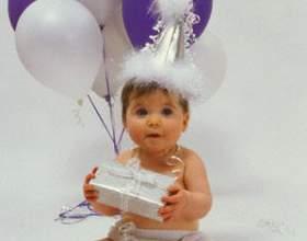 Как отметить год ребенка фото