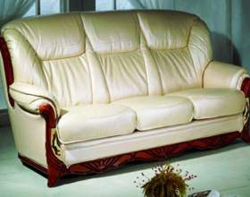 Как отмыть кожаный диван фото