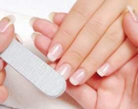 Как отполировать ногти фото