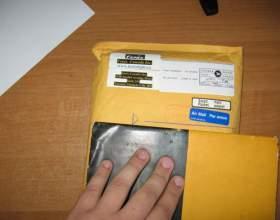 Как отправить бандероль на украину фото