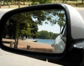 Как отрегулировать зеркало заднего вида фото