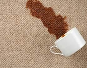 Как отстирать пятна кофе фото
