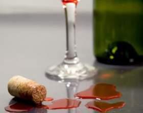 Как отстирать пятна от вина фото