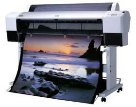 Как печатать на плоттере фото