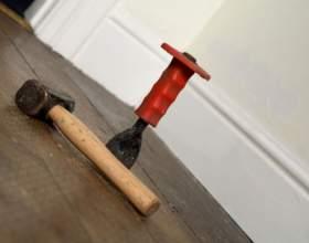 Как перестелить в квартире пол фото
