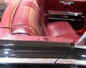 Как перетянуть сидения в авто фото