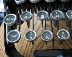 Как писать немецкие буквы фото