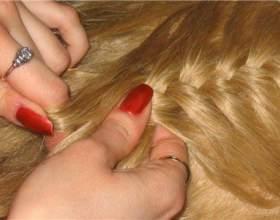 Как плести косички на волосах фото