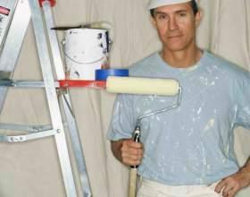 Как побелить потолок валиком фото