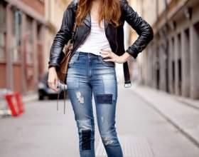 Как починить джинсы фото