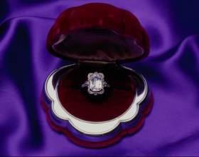 Как почистить кольцо с камнем фото