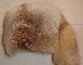 Как почистить мех лисы фото