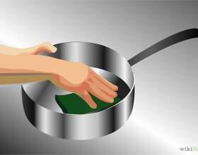 Как почистить посуду из нержавеющей стали фото