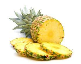 Как подавать ананас фото