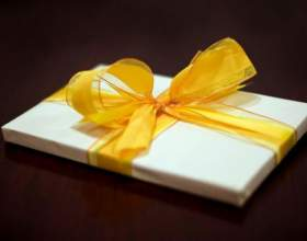 Как подготовить подарок на день рождения фото