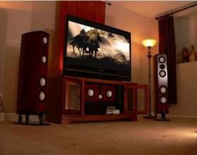 Как подключить акустику для домашнего кинотеатра фото