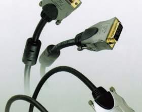 Как подключить кабель dvi фото