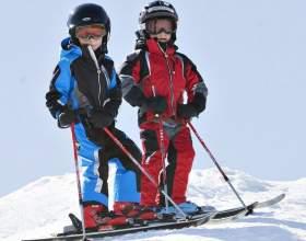 Как подобрать горные лыжи ребёнку фото