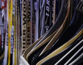 Как подобрать хоккейную клюшку фото