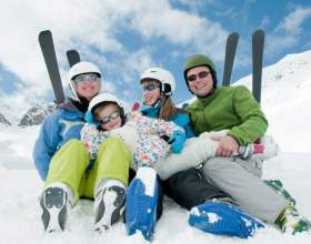 Как подобрать высоту лыж фото