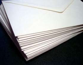 Как подписать почтовый конверт фото