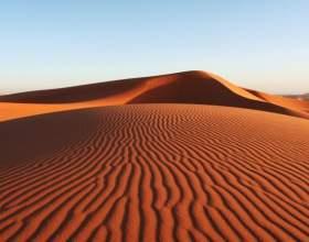Как появились пустыни фото
