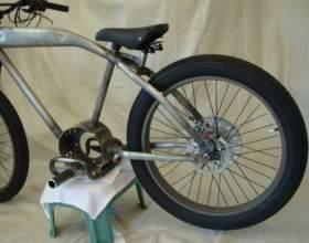 Как поменять заднее колесо велосипеда фото
