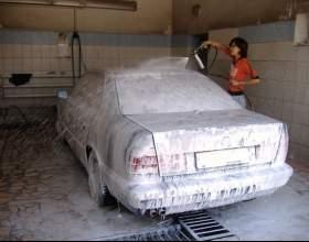 Как помыть машину зимой фото