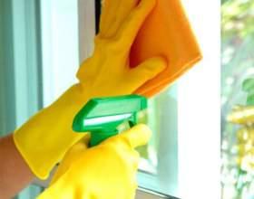 Как помыть окно без разводов фото