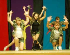 Как поставить танец для группы фото