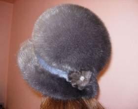 Как постирать норковую шапку фото