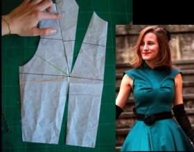 Как построить базовую выкройку платья фото
