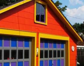 Как построить гараж из бруса фото