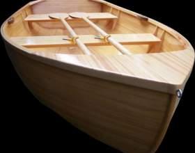 Как построить лодку из дерева фото