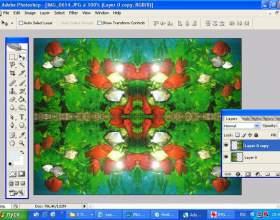 Как повернуть слой в photoshop фото