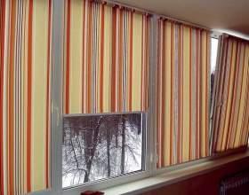 Как повесить шторы на балконе фото